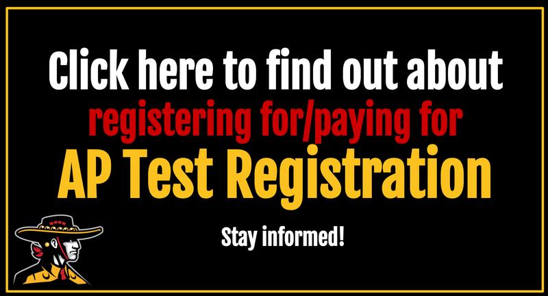 AP Test Registration Payment Info