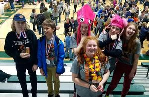TK Odyssey of the Mind teams compete at regionals.