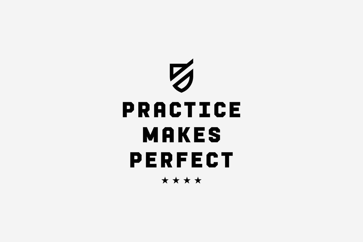 Practice Makes Perfect Logo