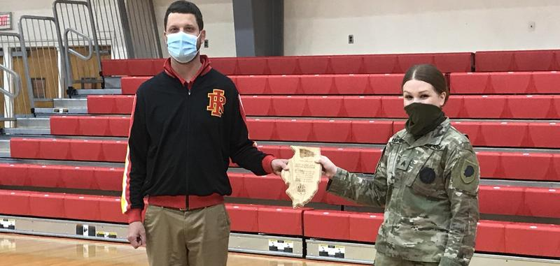 RIHS Receives Award from Illinois Army National Guard Featured Photo