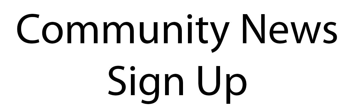 Community New Sign Up