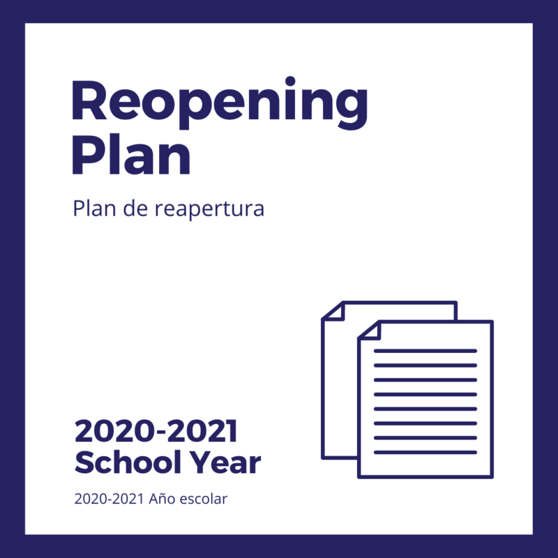 2020-2021 School Reopening Plan Featured Photo