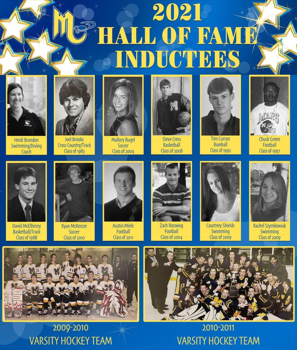Mars Area High School Sports Hall of Fame Inductees 2021