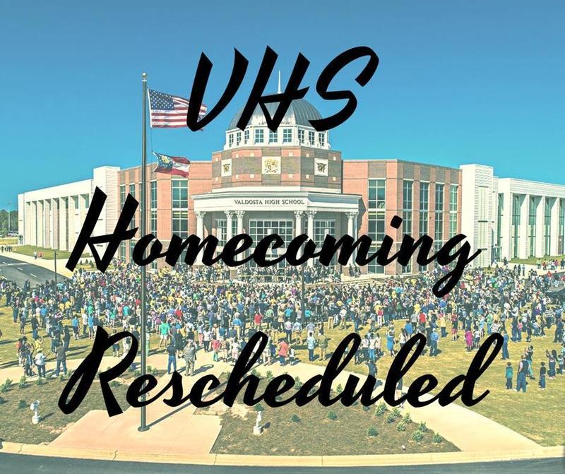 Homecoming Rescheduled