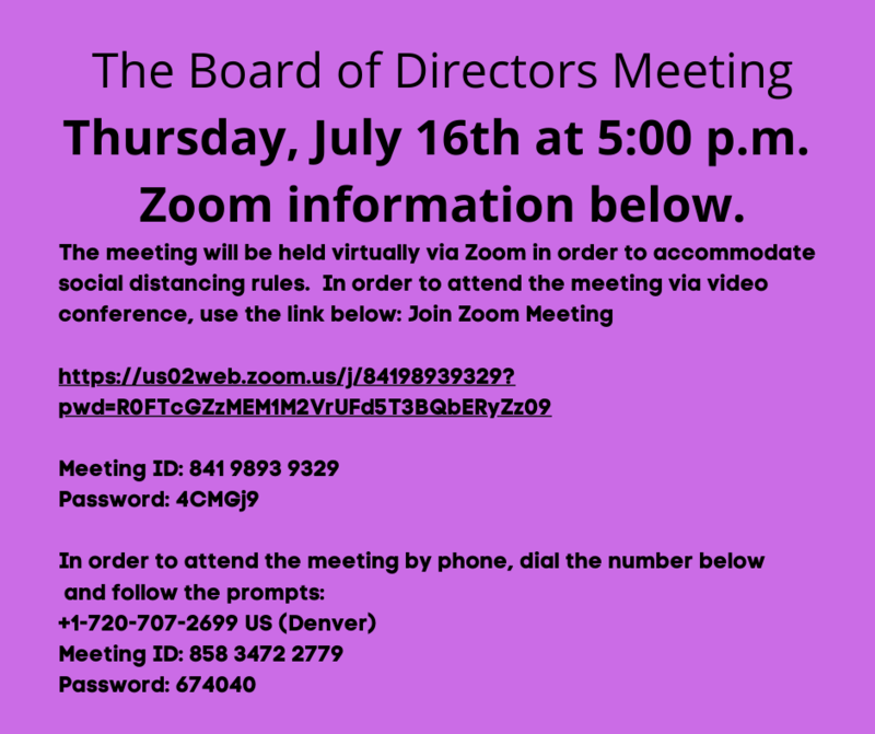 zoom info for board meeting 7-16-20