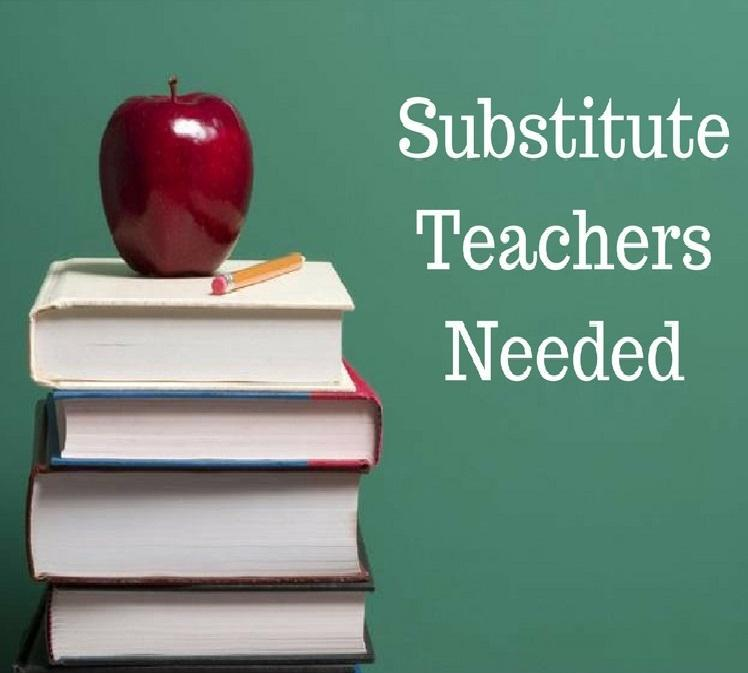Substitute Teachers Needed Featured Photo