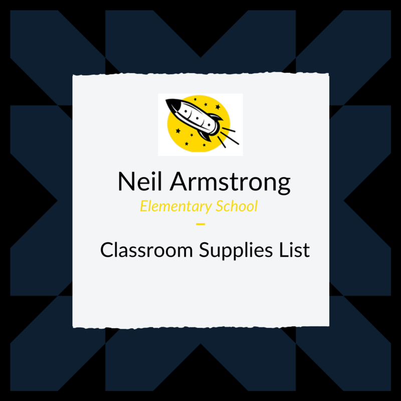 Neil Armstrong School Supply Lists Featured Photo