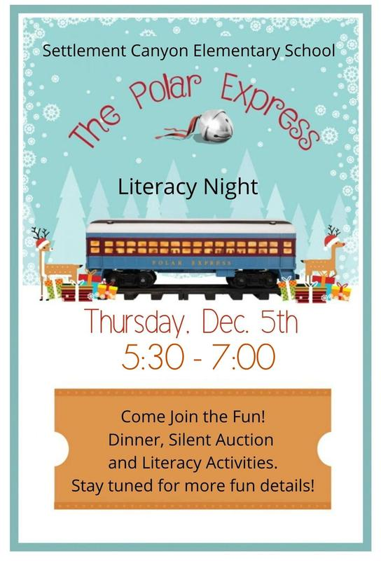 Literacy ~ Night Polar Express Thumbnail Image