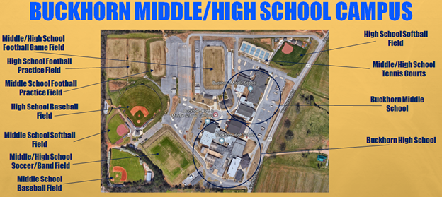 Map of BMS Facilities
