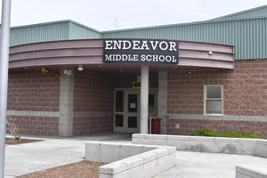 Front photo of Endeavor Middle School