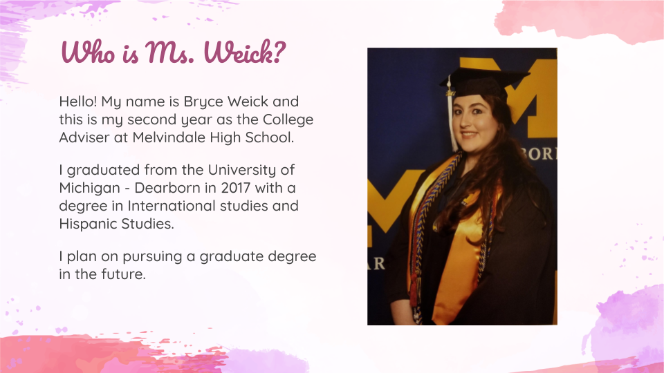 Who is Ms. Weick?