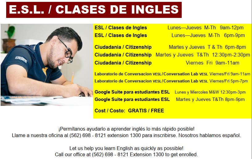 ESL class v2