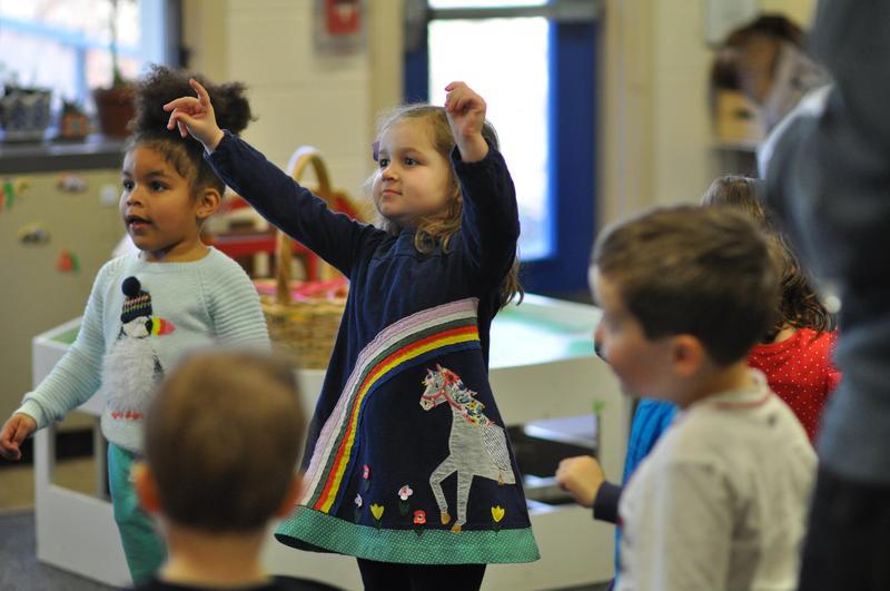 Nursery school Spanish class Featured Photo