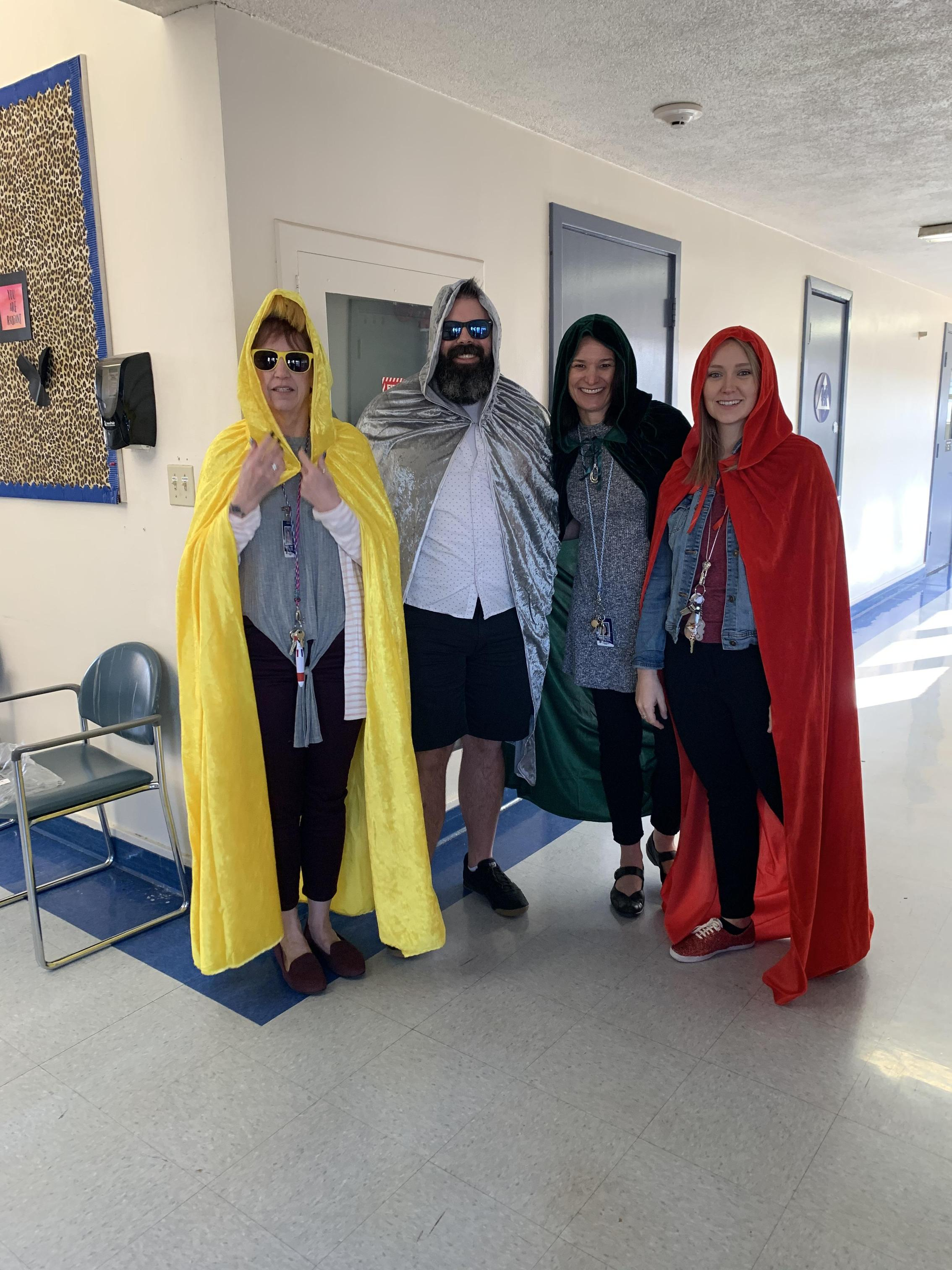 Pacheco Students Dress-up Day