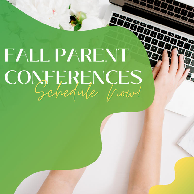 Schedule an Appointment for Fall Parent Conferences Featured Photo
