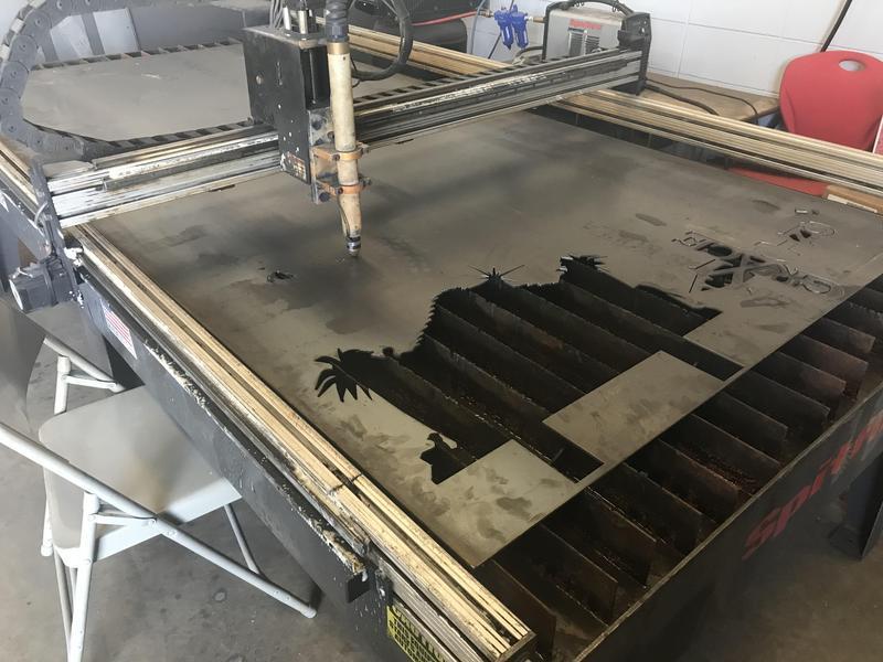 WLHS Shop Class CNC Plasma Table