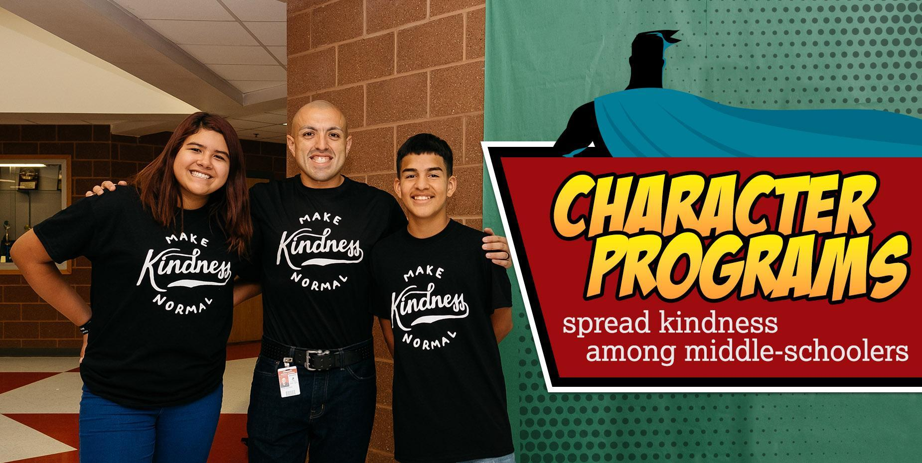 Character programs spread kindness among middle-schoolers