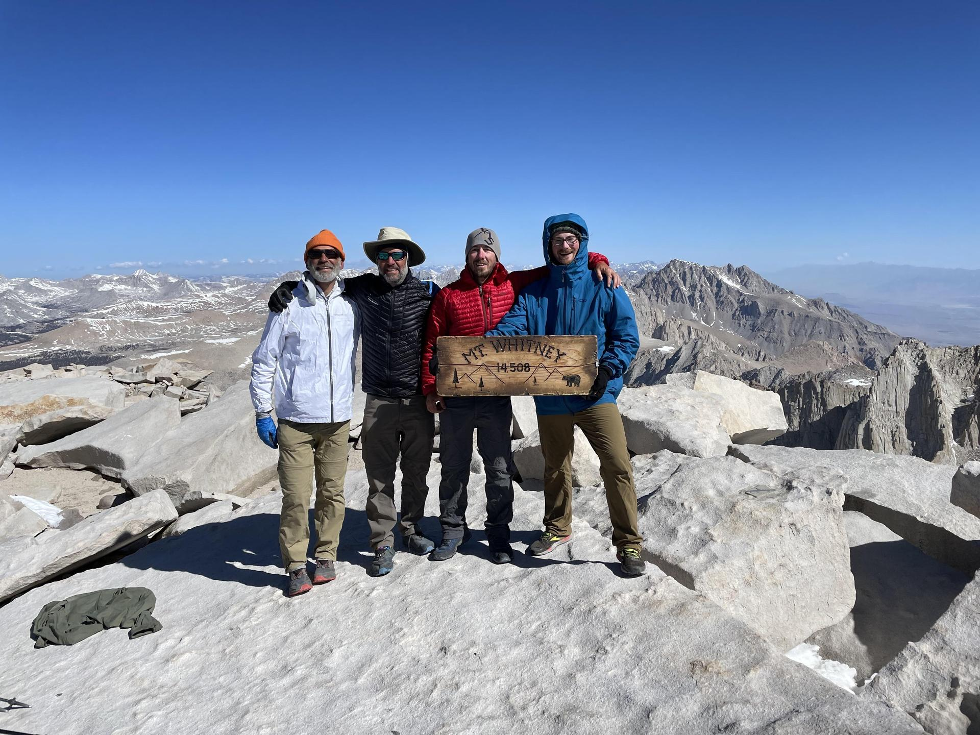 May 15, on Mt. Whitney