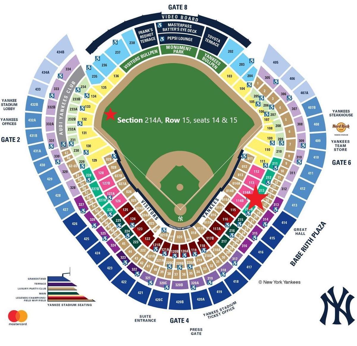 Yankees Map