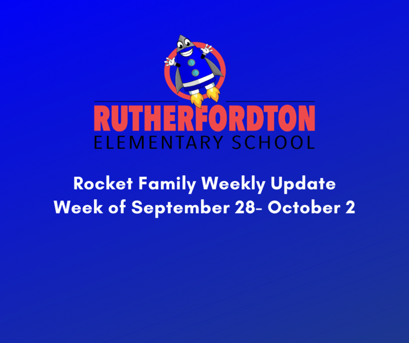 Rocket Family Weekly Update - Week of September 28 - October 2 Featured Photo