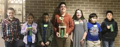 Tannahill Intermediate student Walid Cruz won second place in the Area Spelling Bee on Feb. 9.