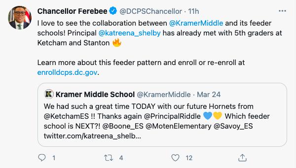 Feeder School Engagement