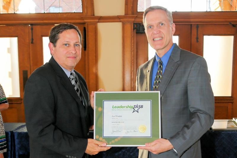 Trustee Finalizes Leadership Training Thumbnail Image