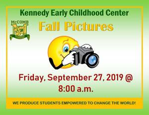 Kennedy Early Childhood Center Fall Pictures 2019