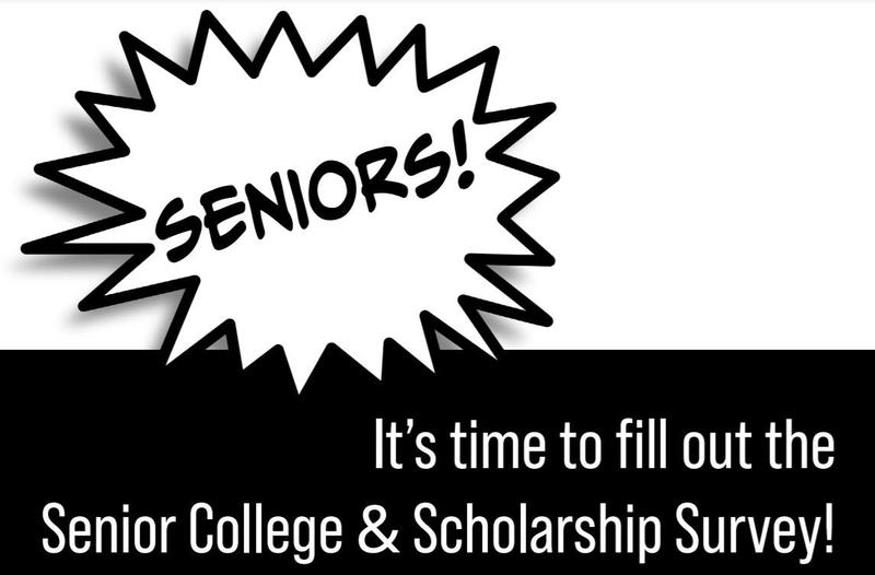 Seniors: fill out the College & Scholarship Survey! Thumbnail Image
