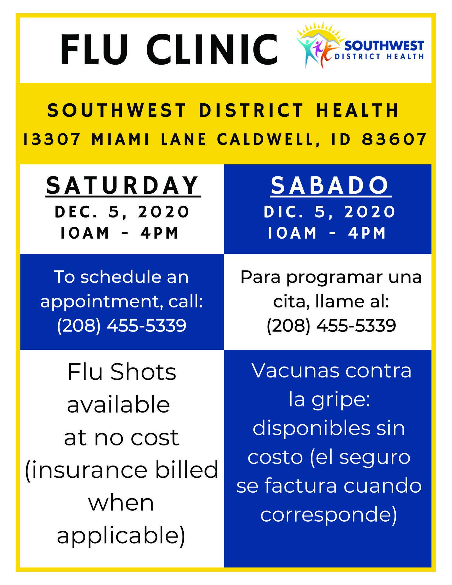 Flu Clinic Information