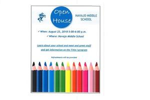 Navajo Mid Open house