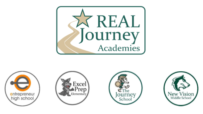 Real Journey and its schools logo