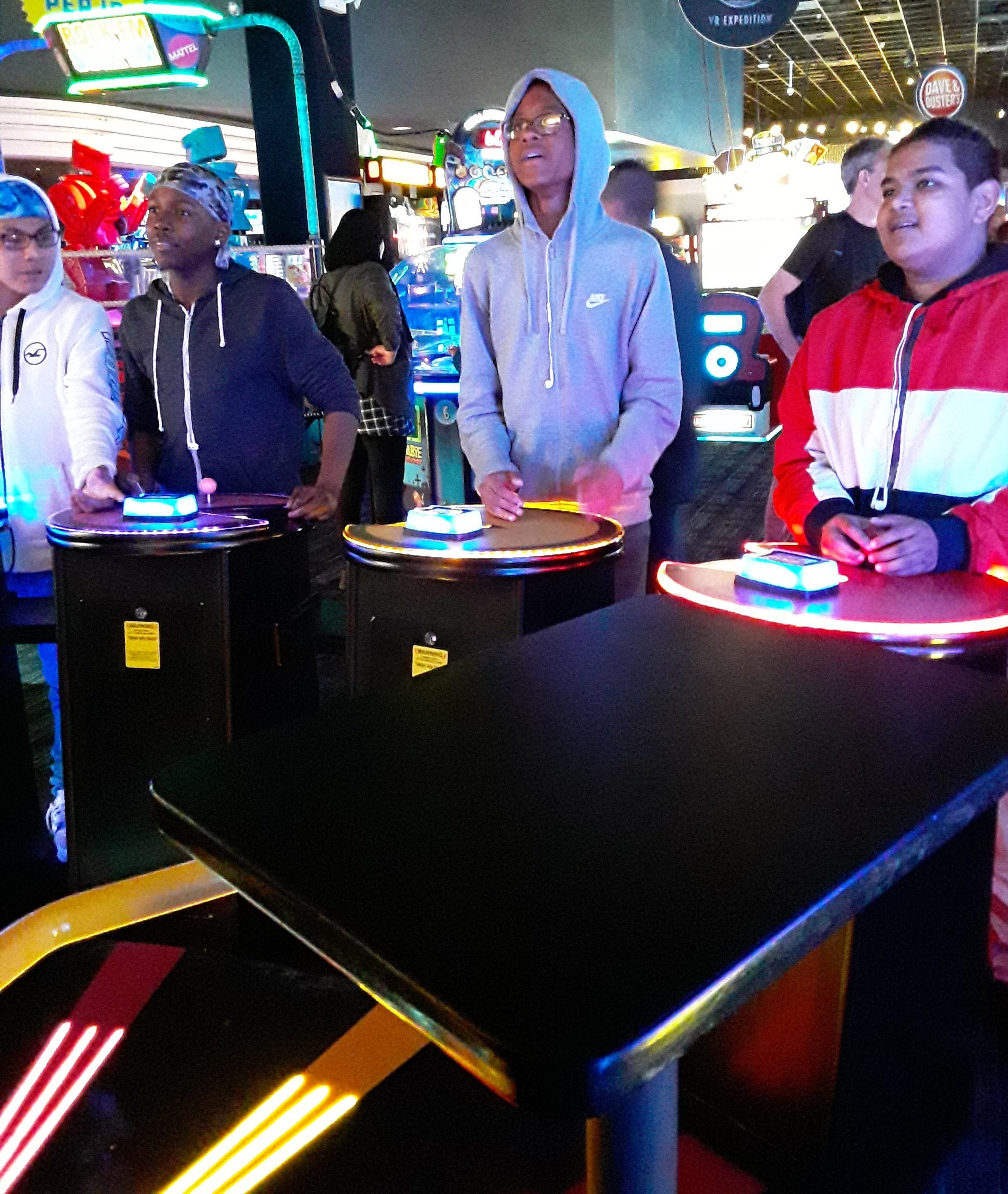 Trip to Dave and Busters