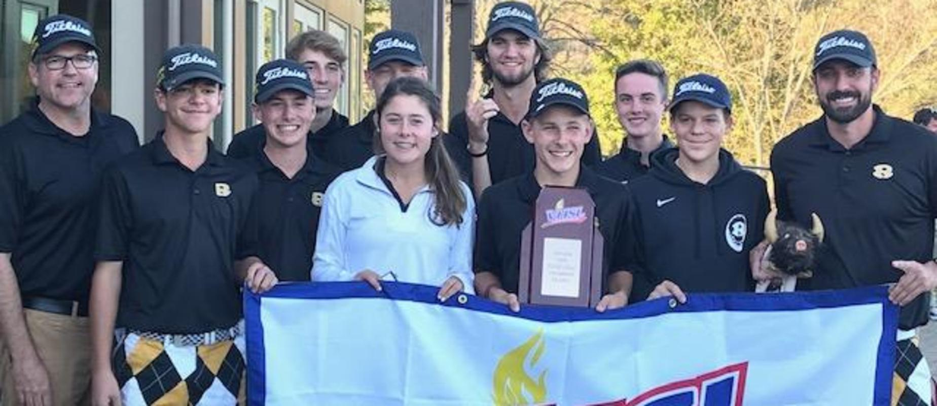 Golf team state champions