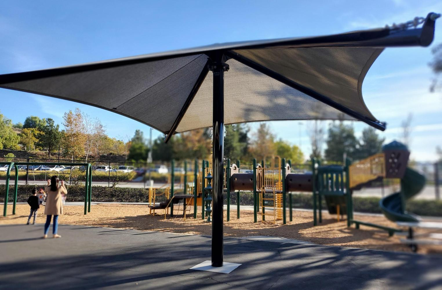 new shade structure