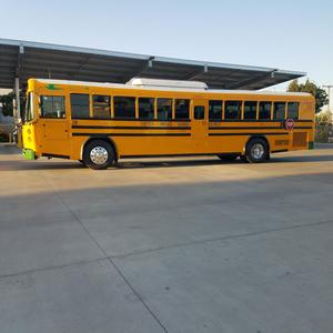 side view of new electric bus for EUSD