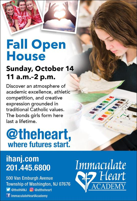 Save the Date! Fall Open House - Oct. 14 Thumbnail Image