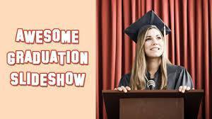 graduation slide show