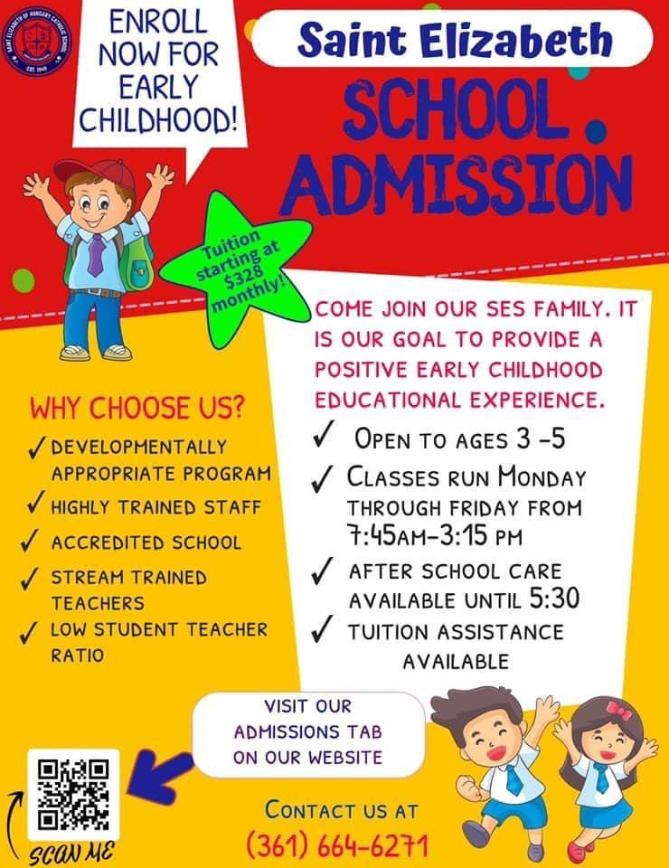 Admissions Flyer