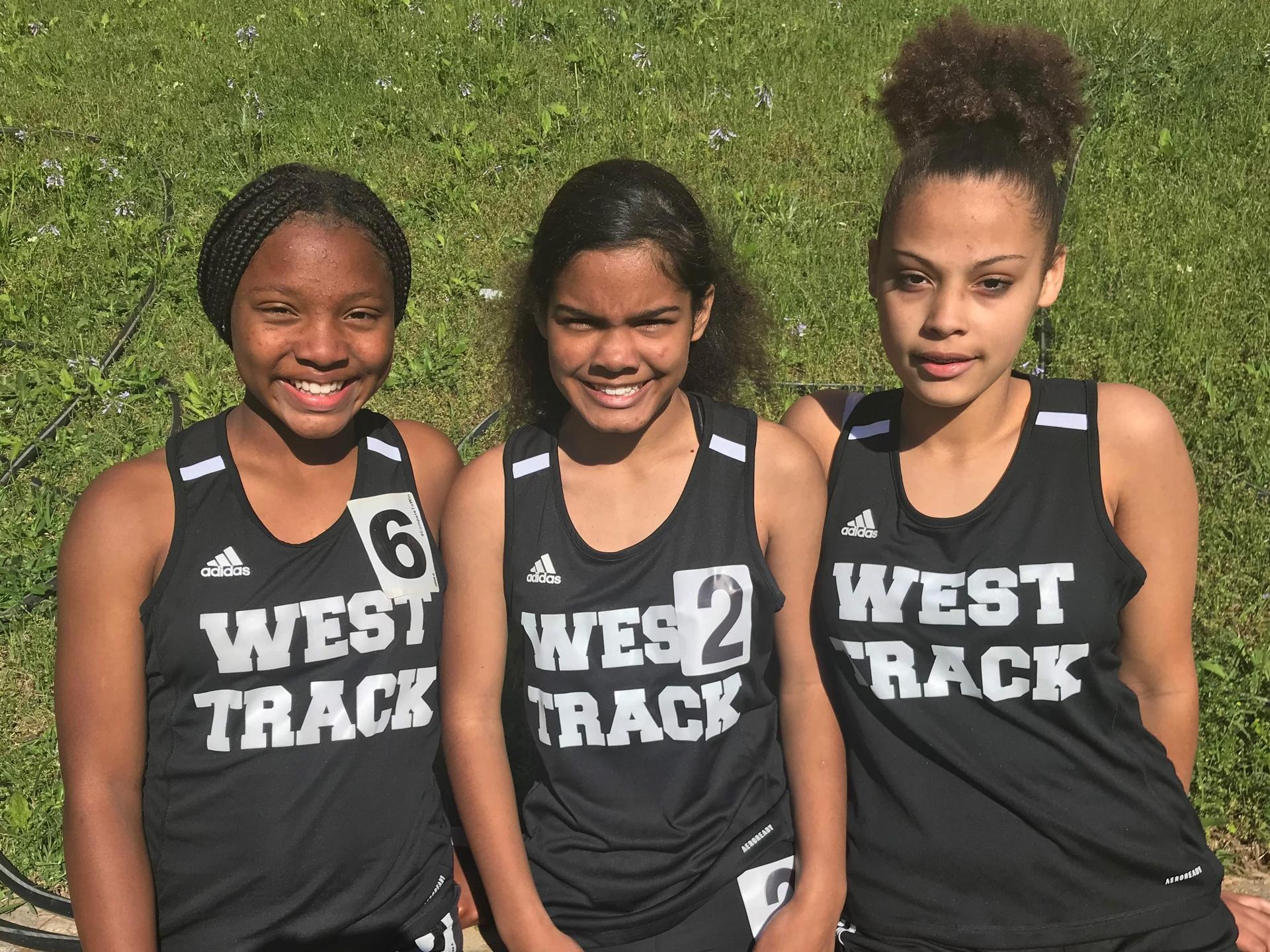 WLMS Girls Track Team Members