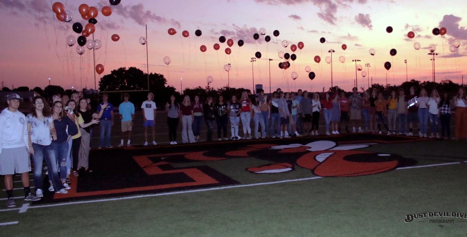 Senior Sunrise Balloon Release