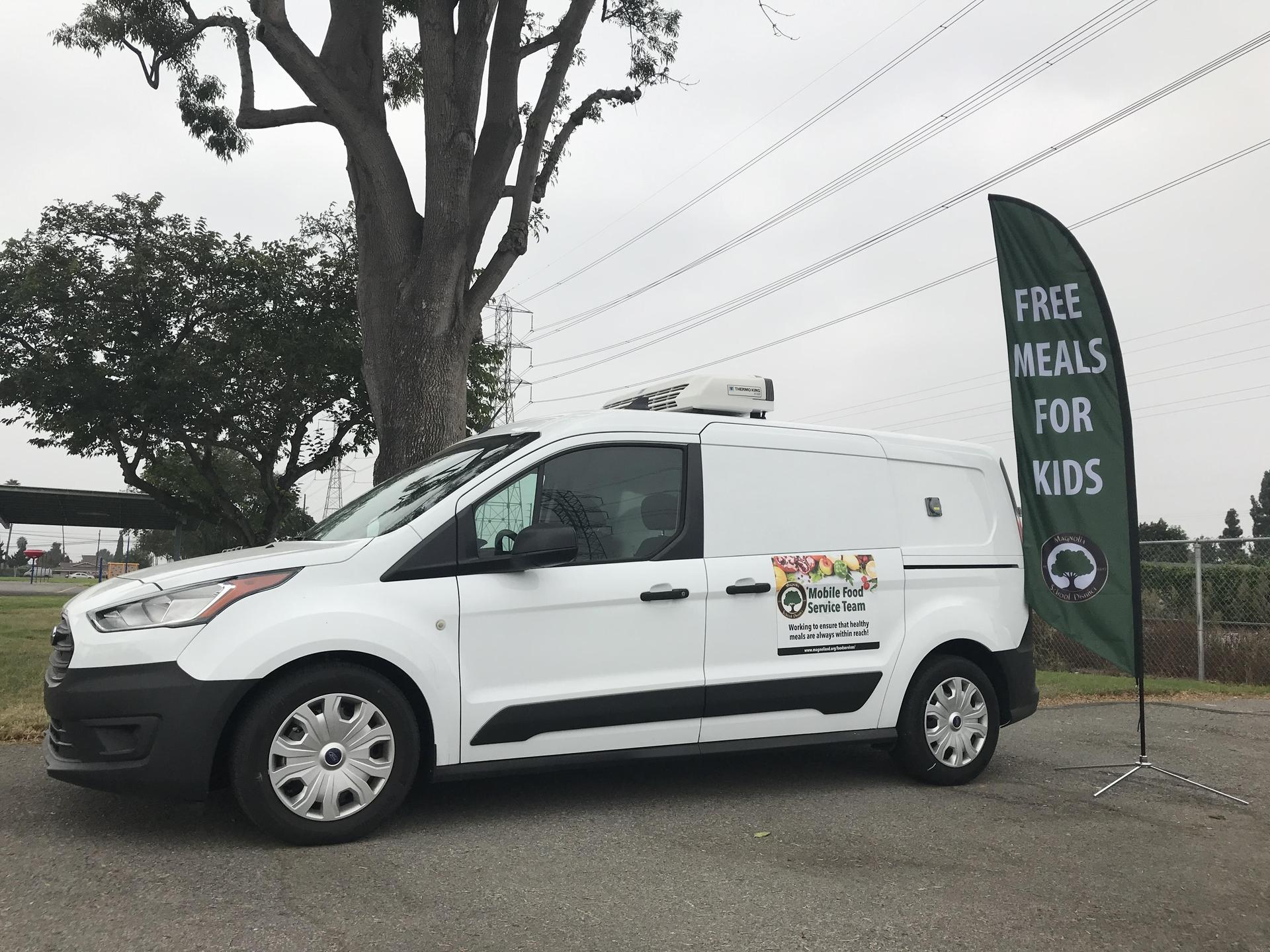 Mobile Refrigerated Van