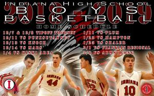 Boy's Basketball Home Game Schedule