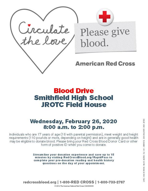SHS Blood Drive