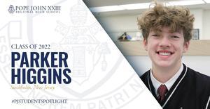 Parker Higgins Student Spotlight