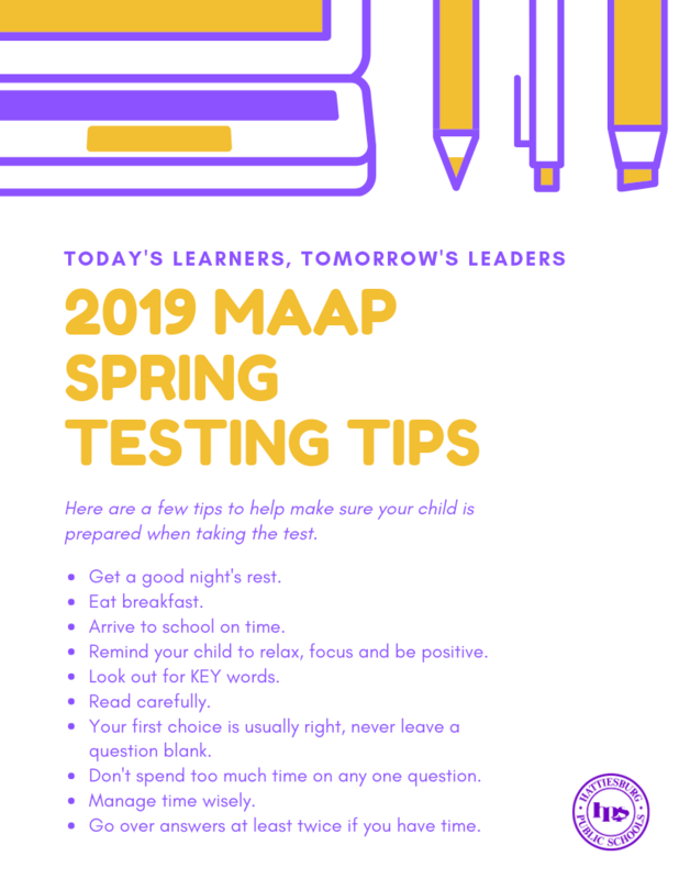 2019 MAAP Spring Testing Tips Featured Photo