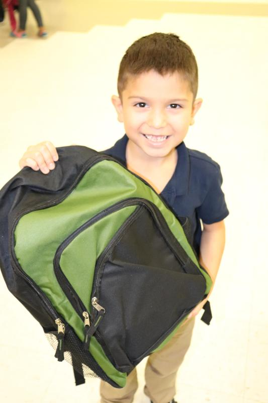 Image of 1st grade student