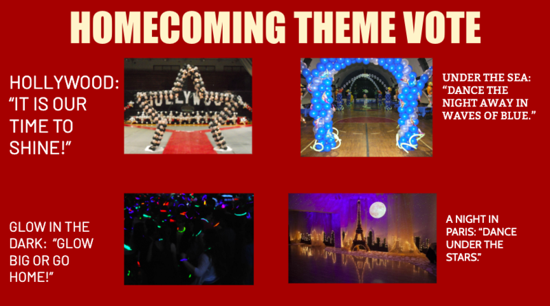 Vote for Roybal's 2019-2020 Homecoming Theme! Thumbnail Image