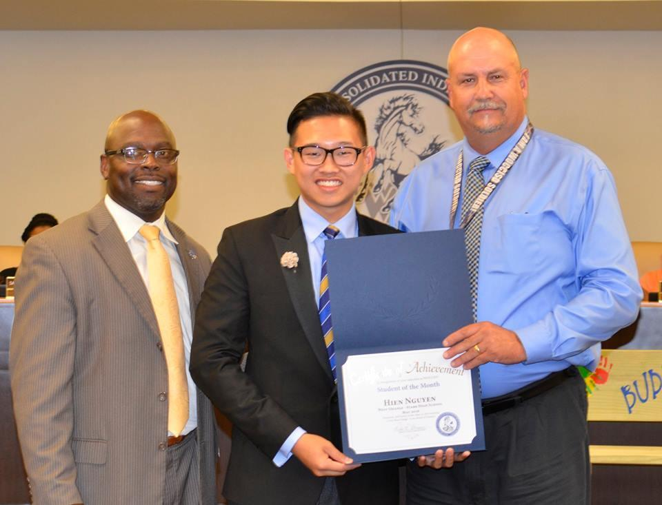 May Hien Nguyen Student of the month