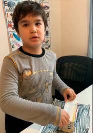 box coloring his box